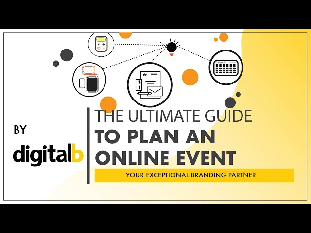 THE ULTIMATE GUIDE TO PLANNING AN ONLINE EVENT