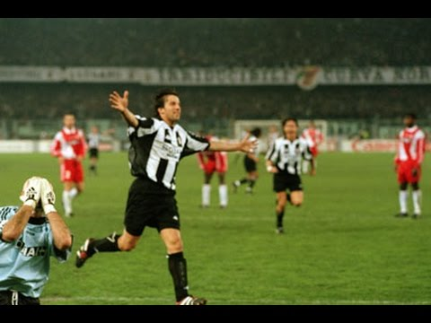 01/04/1998 - UEFA Champions League, semi-final first leg - Juventus - Monaco 4-1