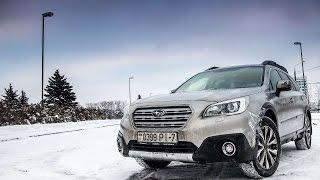 Тестдрайв: Subaru Outback (BS) 2.5i-S Lineartronic, 2015my