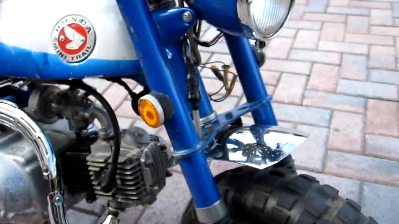 1969 Honda z50 k1  YouTube