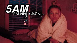5AM Summer Morning Routine!