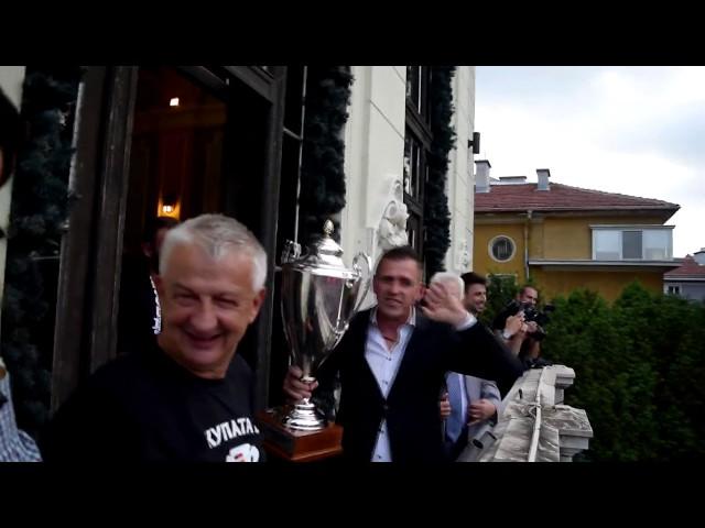 LokomotivTV: Празненствата на Локомотив с Купата на България в Пловдив