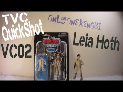 "Loose Star Wars Figure 3.75/"" Princess Leia Organa Hoth VC02 2019 Vintage Wave"