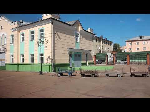 Прибытие на станцию Улан-Удэ