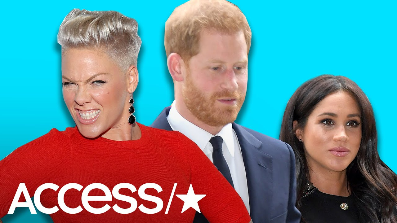 Pink Joins Ellen DeGeneres In Blasting Haters That Are 'Bullying' Meghan Markle And Prince Harry