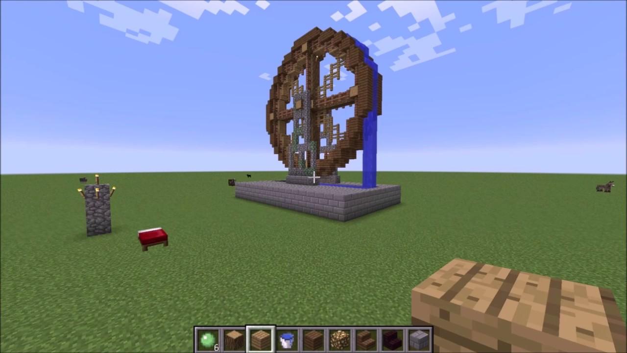 作り方 水車