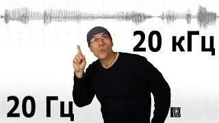 Скачать Легенда о 20 Гц и 20 кГц Почему такой диапазон