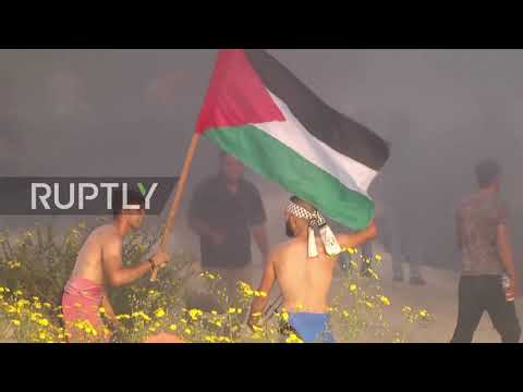 State of Palestine: At least 20 injured at protest against Israeli naval blockade - medics