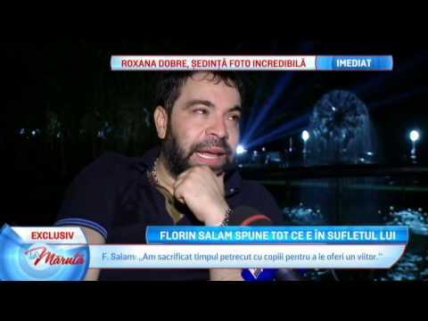 Florin Salam, un interviu dureros de sincer...