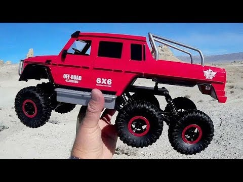 flytec 6wd bigfoot rc rock crawler test drive review youtube. Black Bedroom Furniture Sets. Home Design Ideas