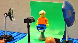 LEGO School Picture Day (Stop Motion)