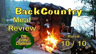 North African Stew - Hawk Vittles - Backcountry Meal Review