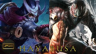 KISAH HAYABUSA HERO DARI MOBILE LEGENDS