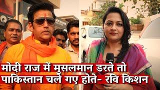 Why is Bhojpuri superstar Ravi Kishan riding on a Hindutva horse?