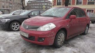 CityVision.  Городской тест-драйв Nissan Tiida (2010)