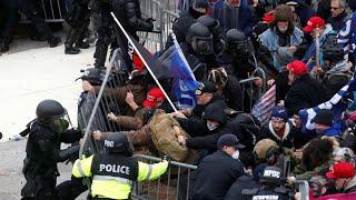 美国国会大厦示威事件导致四人死亡 52人被捕 - YouTube