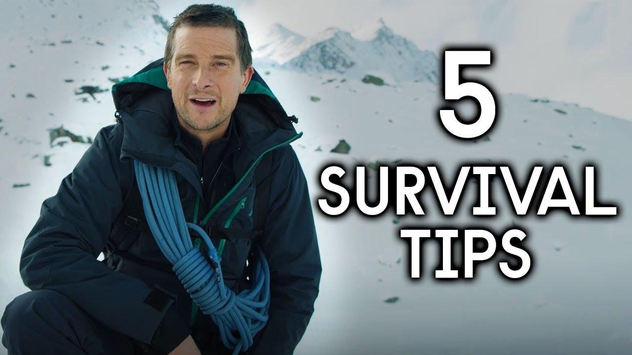 Download 5 Survival Tips With Bear Grylls | Hostile Planet