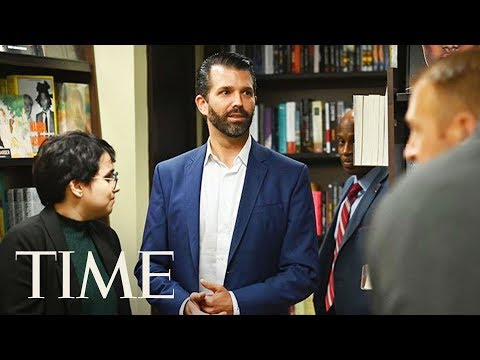 Donald Trump Jr. Walks Offstage After Facing Angry 'Q&A' Chants, Refusing To Take Questions | TIME