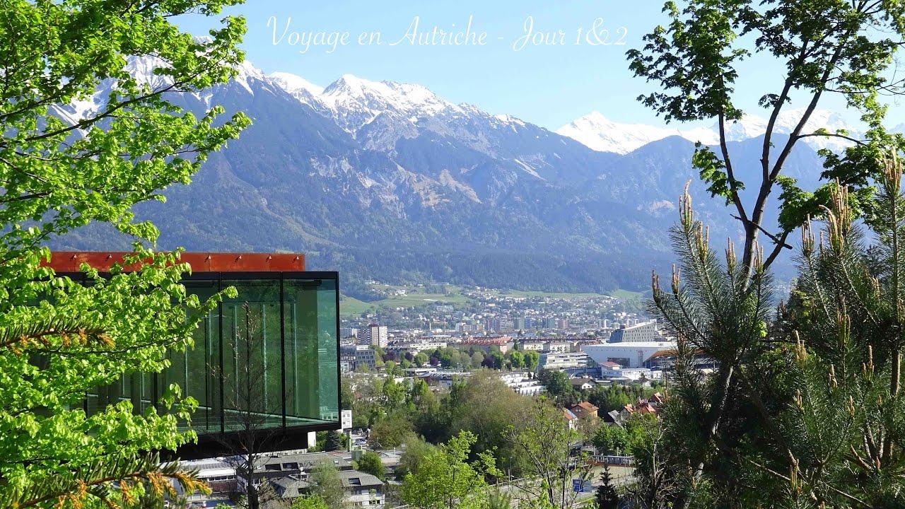 Voyage en Autriche - Jour 1&2 Chutes du Rhin & Innsbruck (4K/Ultra HD)