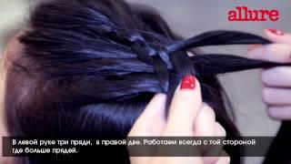 Коса из 5 прядей: видеоинструкция