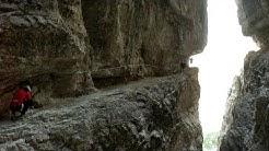 Alpinisteig Sextener Dolomiten - berühmtes Schattenmotiv - Abenteuer Alpin 2012 (Folge 8.2)