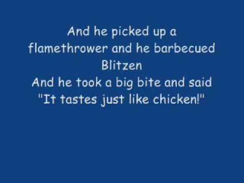 The Night Santa Went CRAZY !!! - Weird Al Yankovic + Lyrics