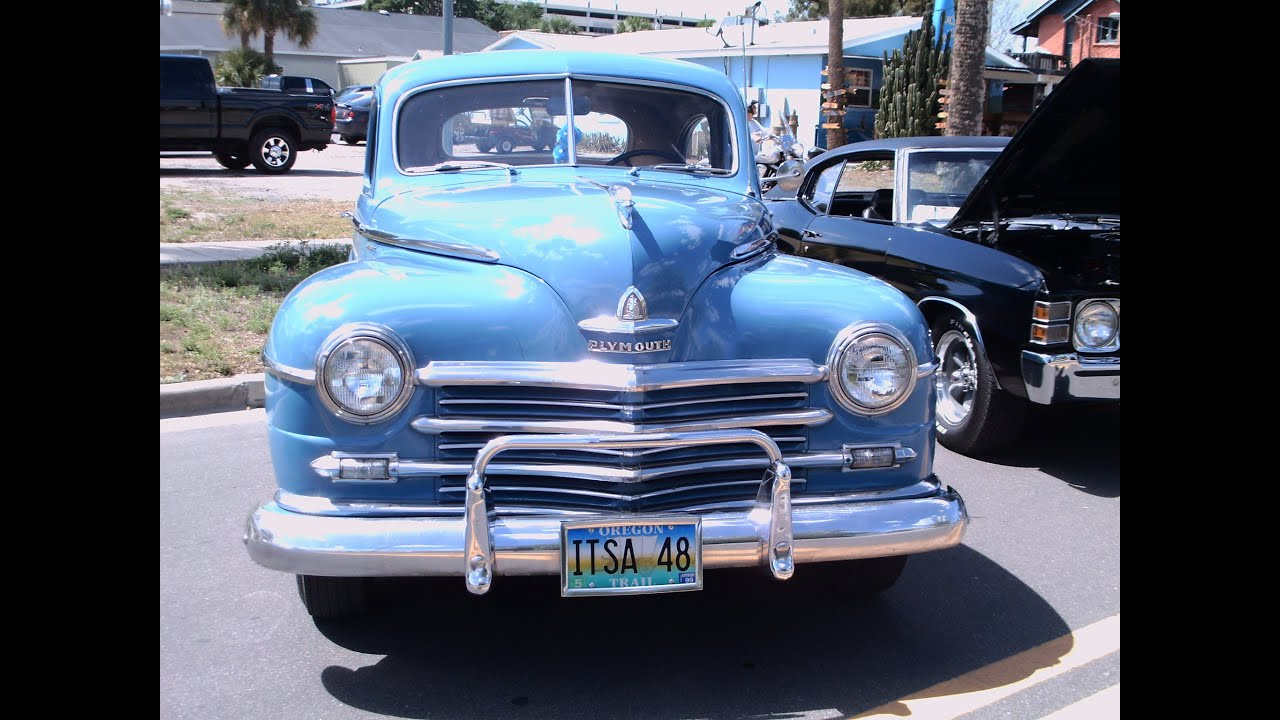 1948 Plymouth Special Deluxe Coupe Blu Tav033112 Youtube