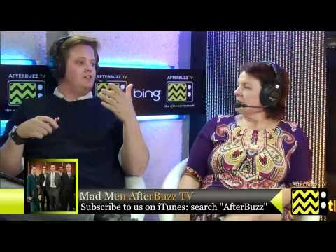 """Mad Men After Show Season 5 Episode 5 """"  Far Away Places """"    AfterBuzz TV"""