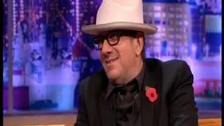 Elvis Costello performing Alison