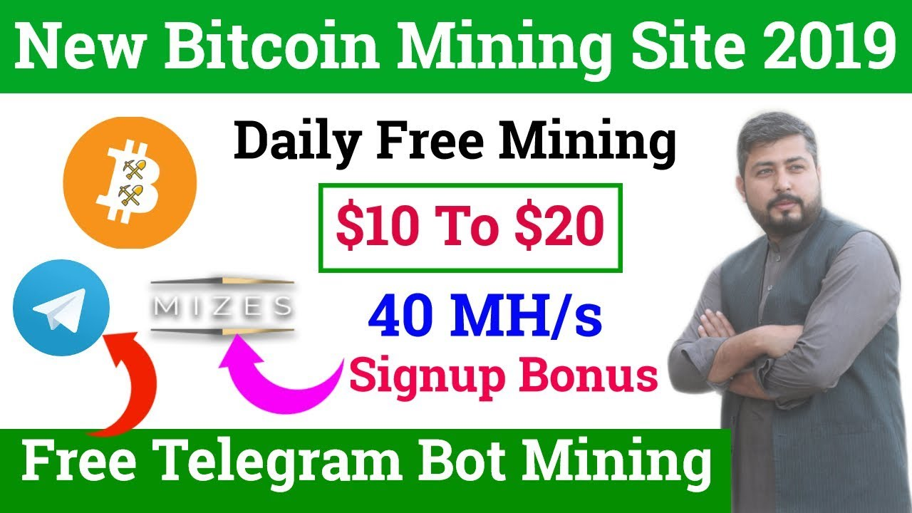 Best Free Bitcoin Mining Site 2019 | Earn Bitcoin Every Day | Free Telegram  Bot Mining