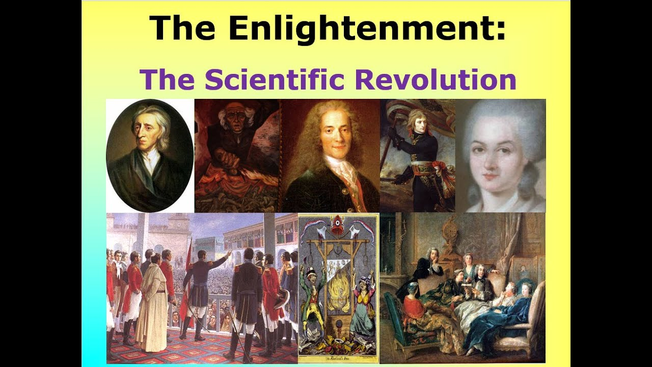 scientific revolution and the enlightenment The scientific revolution- science begins to based on experiments and reason •  scientific method- orderly was to collect and study facts • nicolaus copernicus.