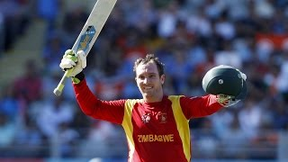 2015 WC IND vs ZIM: Brendan Taylor's century in final ODI