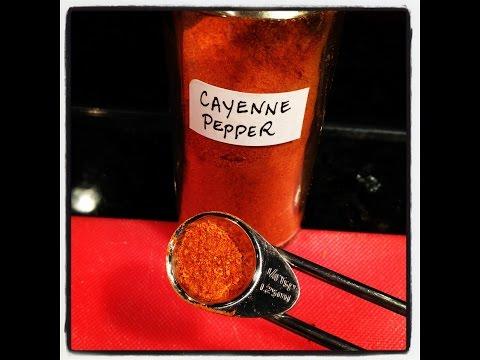 CAYENNE PEPPER HEALTH RECIPE