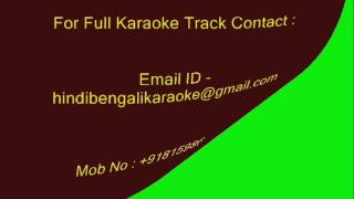 Download Hindi Video Songs - Ami Niralai Bose - Karaoke - Manna Dey - Vewrsion-1