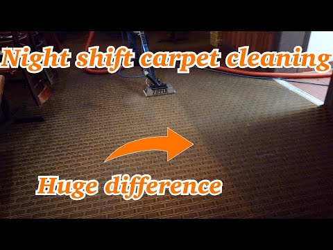 """Satisfying restaurant carpet cleaning made easy using our 15"""" ZIPPER"""