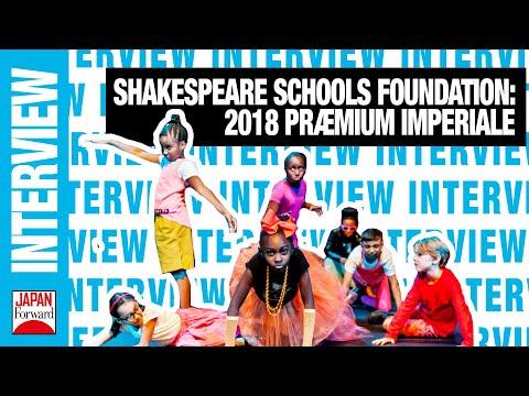Shakespeare Schools Foundation: 2018 Præmium Imperiale   JAPAN Forward