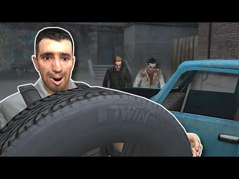 BUILDING A CAR TO ESCAPE ZOMBIES! - Garry's Mod Gameplay - Gmod Zombie Survival