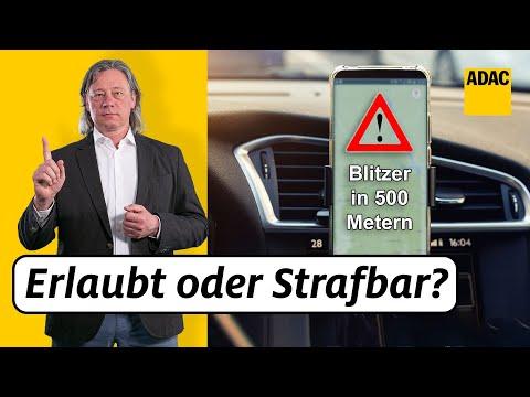 Blitzer-Apps 2020: Neu, was ist jetzt erlaubt und was verboten? | ADAC | Recht? Logisch!