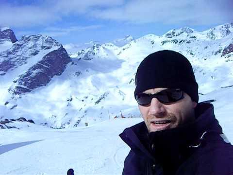 On Top of Piz Nair, St. Moritz