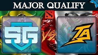 [PT-BR] SG vs TA - Dota 2 Major Qualify - Brasil vs Peru - live ColdfoxTV