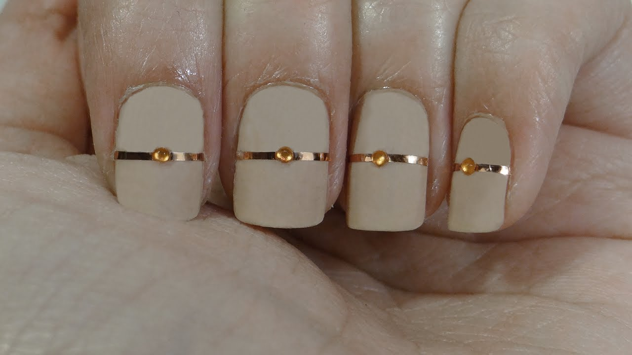 Uas con anillos o nails with rings  YouTube