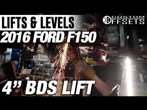 "Lifts & Levels: 2016 Ford F150, 4"" BDS Lift"