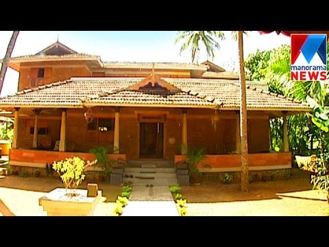 Organic house veedu manorama news youtube for Low cost kerala veedu plans