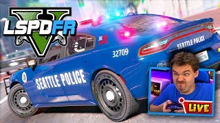 GTA 5 LIVE LSPDFR POLICE MOD Seattle Police Department | Realistic Police Patrol