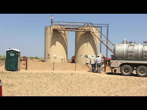 Video, photos show oil site where bodies of Chris Watts' wif