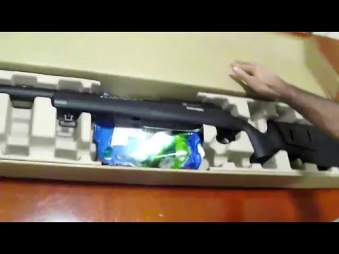Unboxing Airsoft Sniper FN Herstal A5M