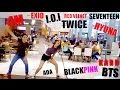 DANCING KPOP 2016 SONGS IN PUBLIC