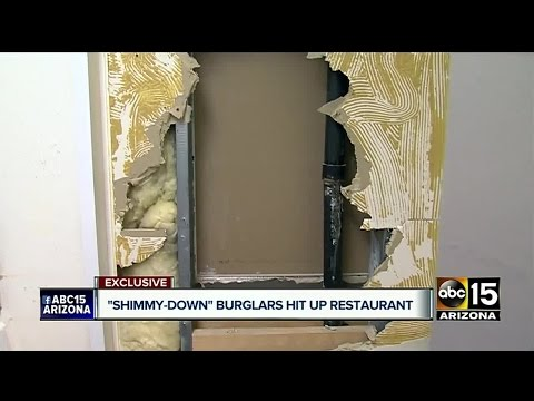 Valley businesses targeted by burglar in Ahwatukee