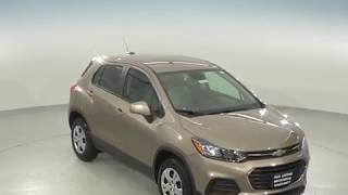 182673 - New, 2018, Chevrolet Trax, LS, Test Drive, Beige, SUV, Review, For Sale -