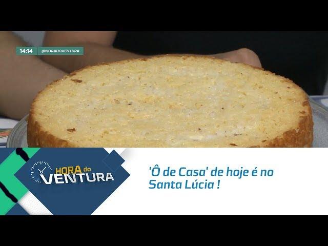 'Ô de Casa' de hoje é no Santa Lúcia ! - Bloco 01